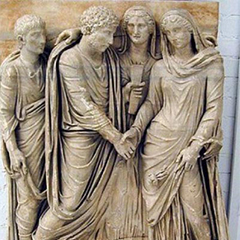Image of Roman marriage
