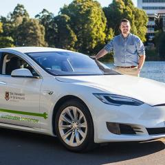 Supporting e-mobility research at UQ
