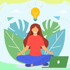 How online mindfulness training can help students thrive during the pandemic