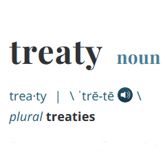 image of the word treat as defined in dictionary