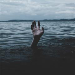 Image of a hand in water