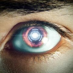 Image of robotic eye