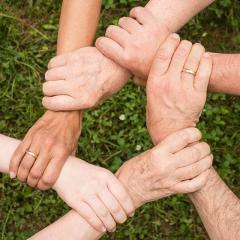 Image of hands holding
