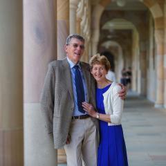 Professor Ian Frazer AC and Caroline Frazer
