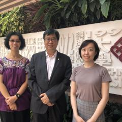 Prof. David H.K. Shum (PhD in Psychology, 1992), Dr Yuan Cao (PhD in Psychology, Master of Clinical Psychology, 2018), and Dr Judy Y. M. Siu (PhD in Population Health, 2008)