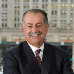 This is an image of Andrew N. Liveris