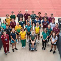 An image of 2021 UQ Sport Scholarship recipients