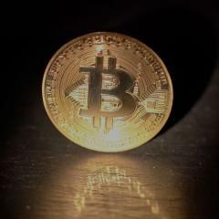 An image of a Bitcoin