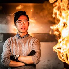 This is an image of UQ Master of Engineering Science (Fire Safety Engineering) graduate Andy Wong.