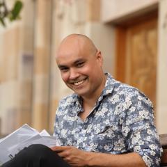 Aboriginal Fulbright Scholar Graham Akhurst